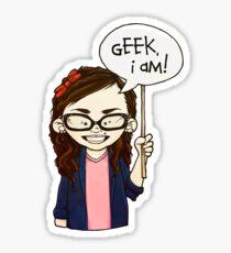 Geek I am ! Sticker