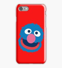 Grover head geek funny nerd iPhone Case/Skin