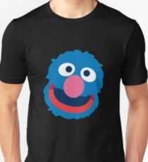 Grover head geek funny nerd Unisex T-Shirt
