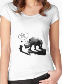 Tiananmen Zoo Women's Fitted Scoop T-Shirt