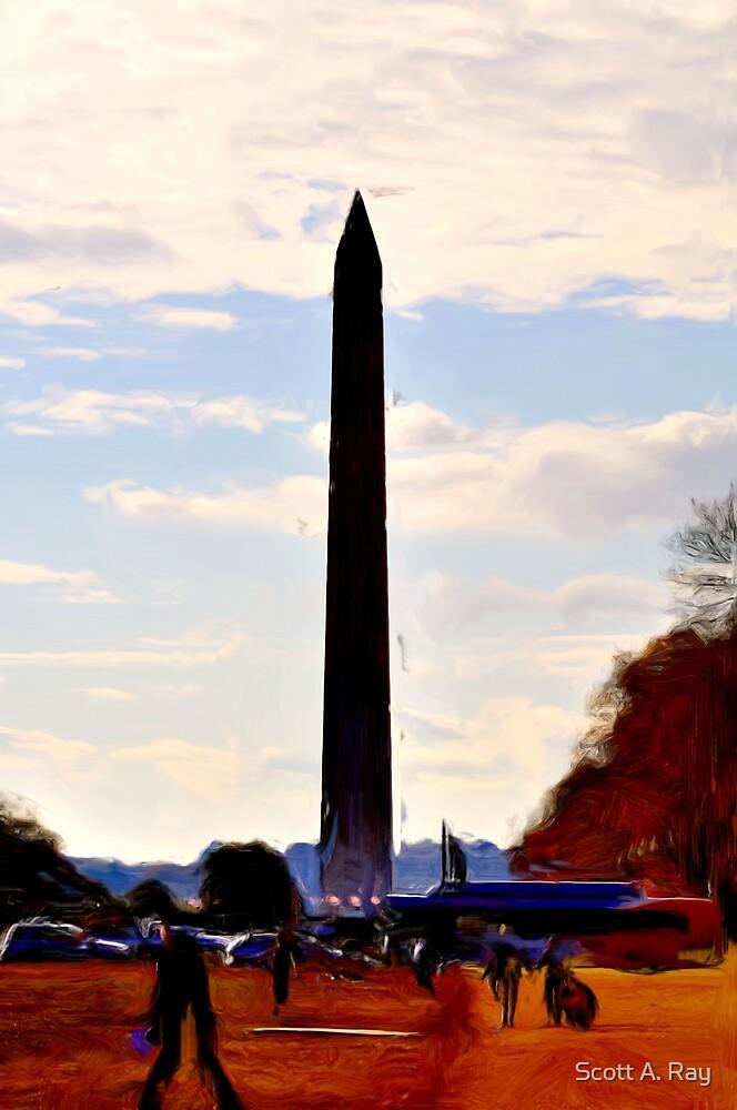 Washington Monument by Scott A. Ray