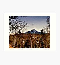 Mount Chocorua Art Print