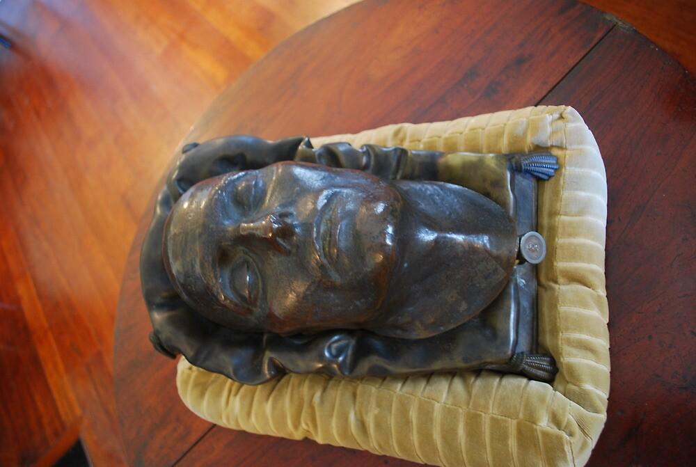 Napoleons death mask, Longwood, St Helena by dizzyshell42