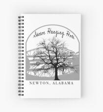 Haunted Sketoe Hanging Hole Spiral Notebook