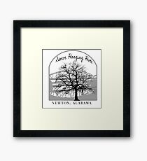 Haunted Sketoe Hanging Hole Framed Print