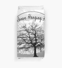 Haunted Sketoe Hanging Hole Duvet Cover