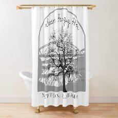 Haunted Sketoe Hanging Hole Shower Curtain