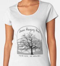 Haunted Sketoe Hanging Hole Premium Scoop T-Shirt
