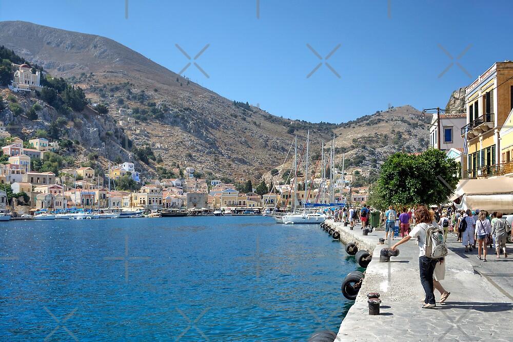Gialos harbour by Tom Gomez