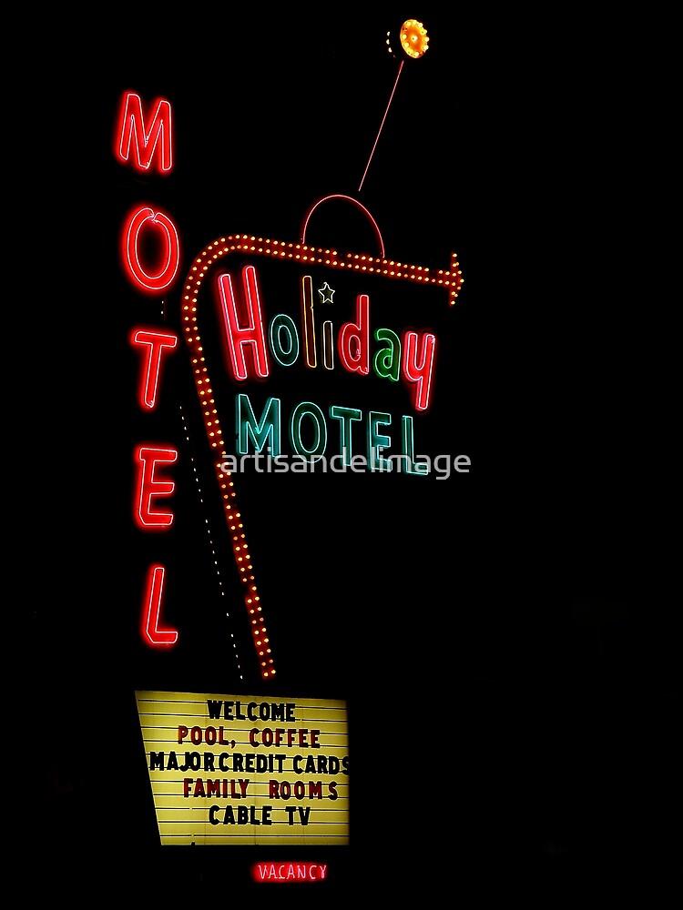 Holiday Motel by artisandelimage