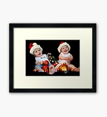 All I Want for Christmas Is ... Framed Print