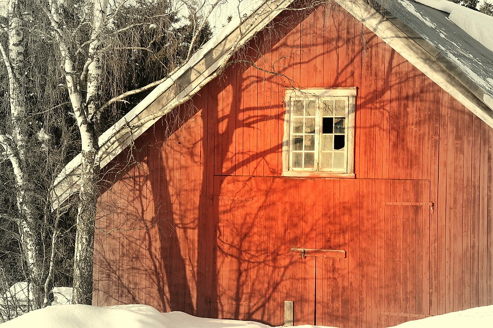 Red Barn by AmyKippernes