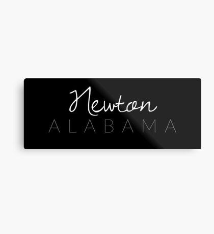 Newton, Alabama Metal Print
