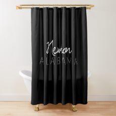 Newton, Alabama Shower Curtain