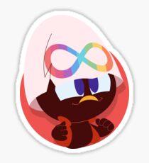 Calimero Neurodiversity Pride Glossy Sticker