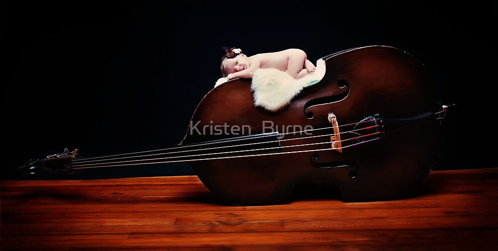 Music to her ears... by Kristen  Byrne
