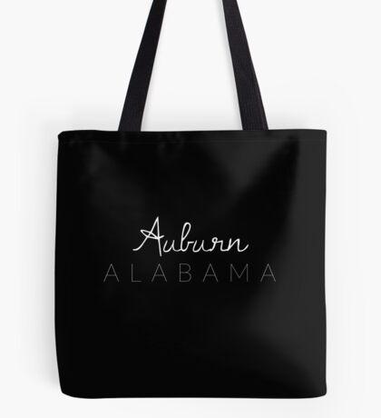 Auburn, Alabama Tote Bag