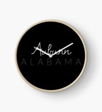 Auburn, Alabama Clock