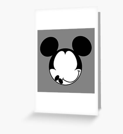 DISMAL MOUSE Greeting Card