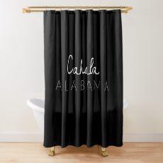 Cahaba, Alabama Shower Curtain