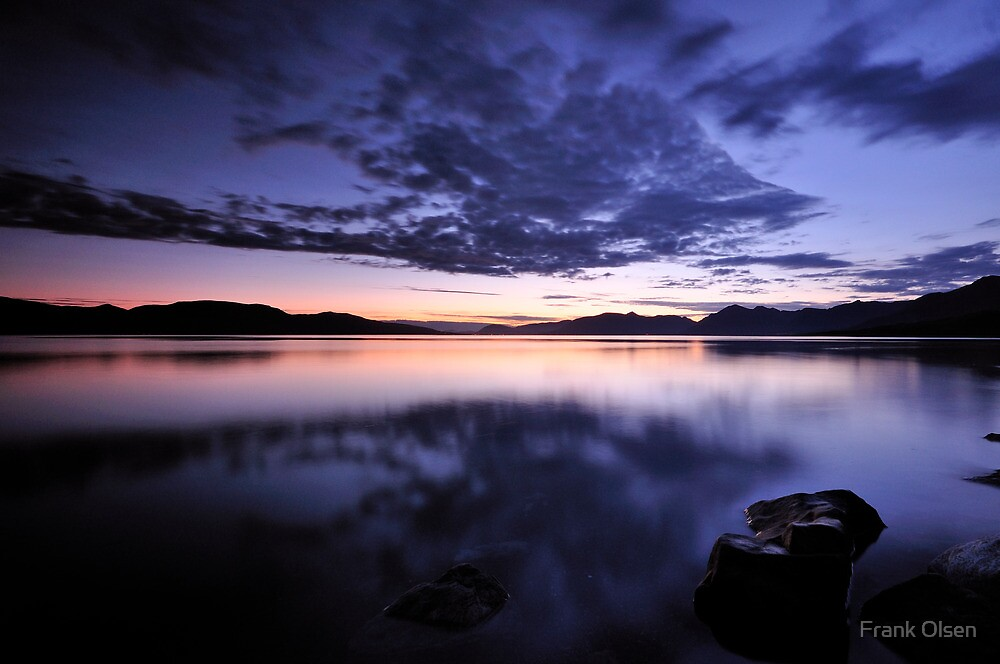 The blue hour by Frank Olsen