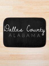 Dallas County, Alabama Bath Mat