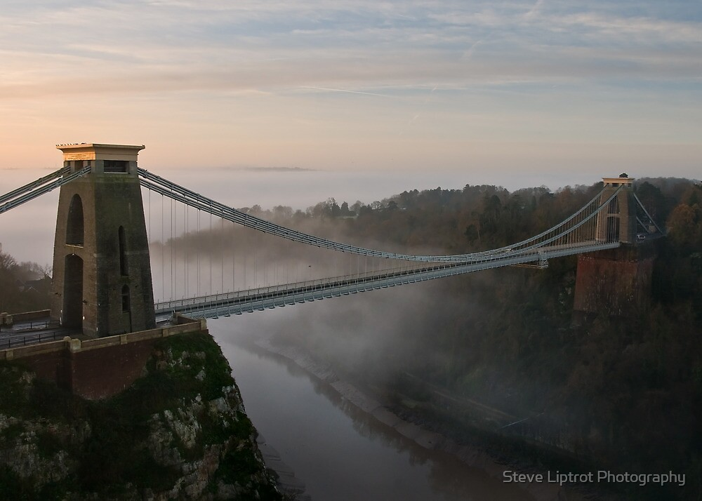 The Clifton Suspension Bridge by Stephen Liptrot