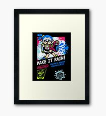 MAKE IT RAIN! Framed Print