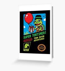 SUPER TORTIMER! Greeting Card