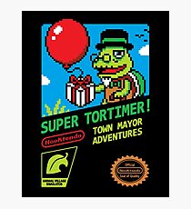 SUPER TORTIMER! Photographic Print