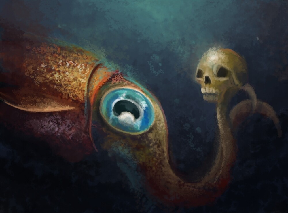 To Squid Or Not To Squid by Franz Anthony