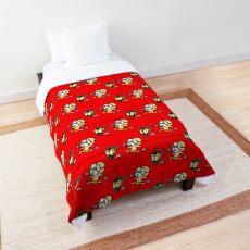 Shut Your Trap Comforter