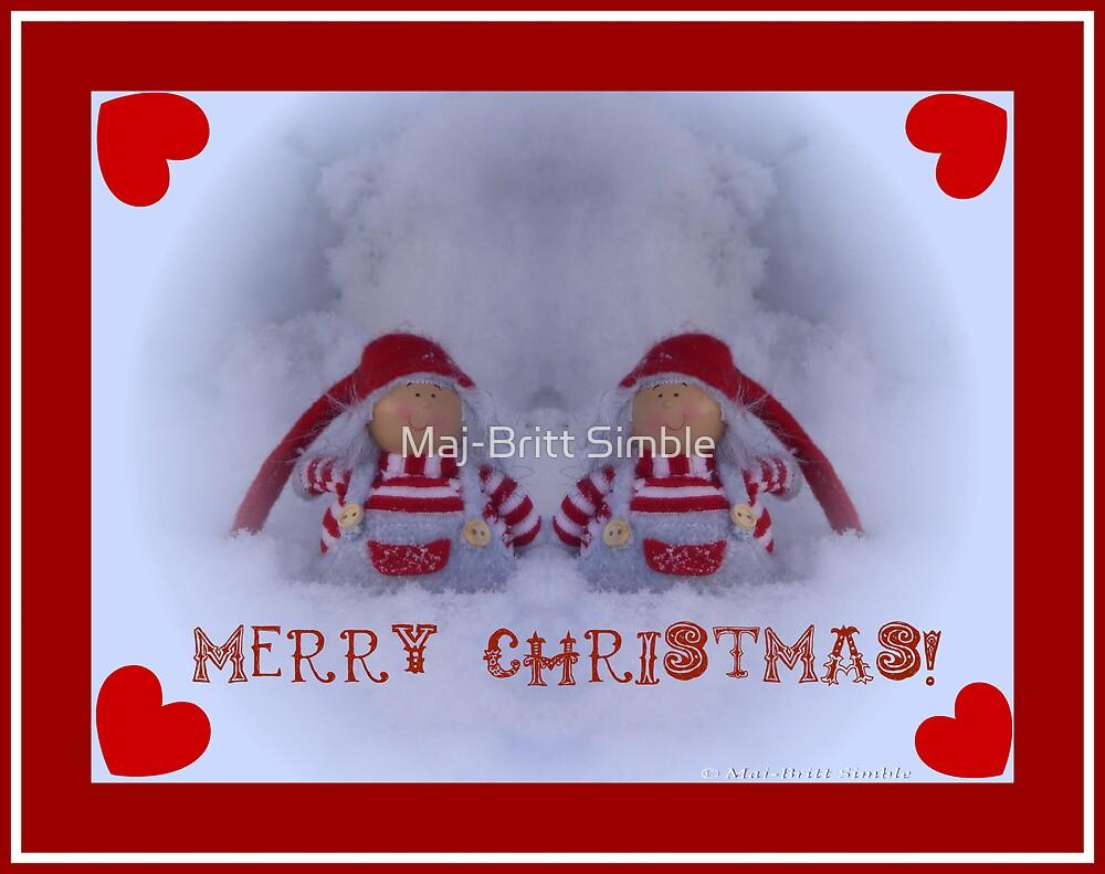 Merry Christmas - card11  :-) by Maj-Britt Simble