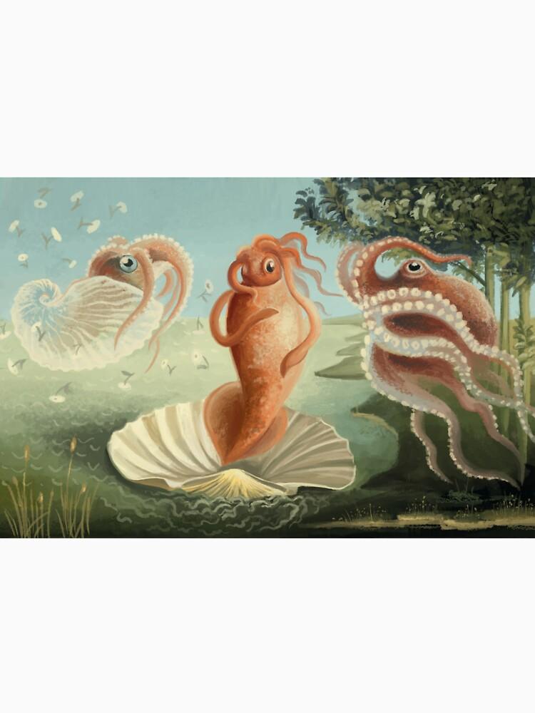 The Birth of Squid by franzanth