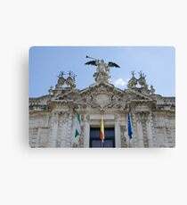 Architecture in Seville, Spain - Real Fábrica de Tabacos Canvas Print