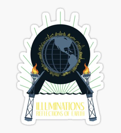 Illuminations - Reflections of Earth Sticker