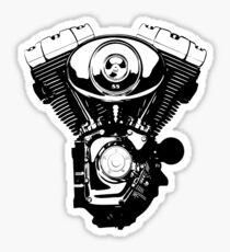 Harley engine Sticker