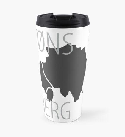 Tønsberg - Maps on Mugs Travel Mug