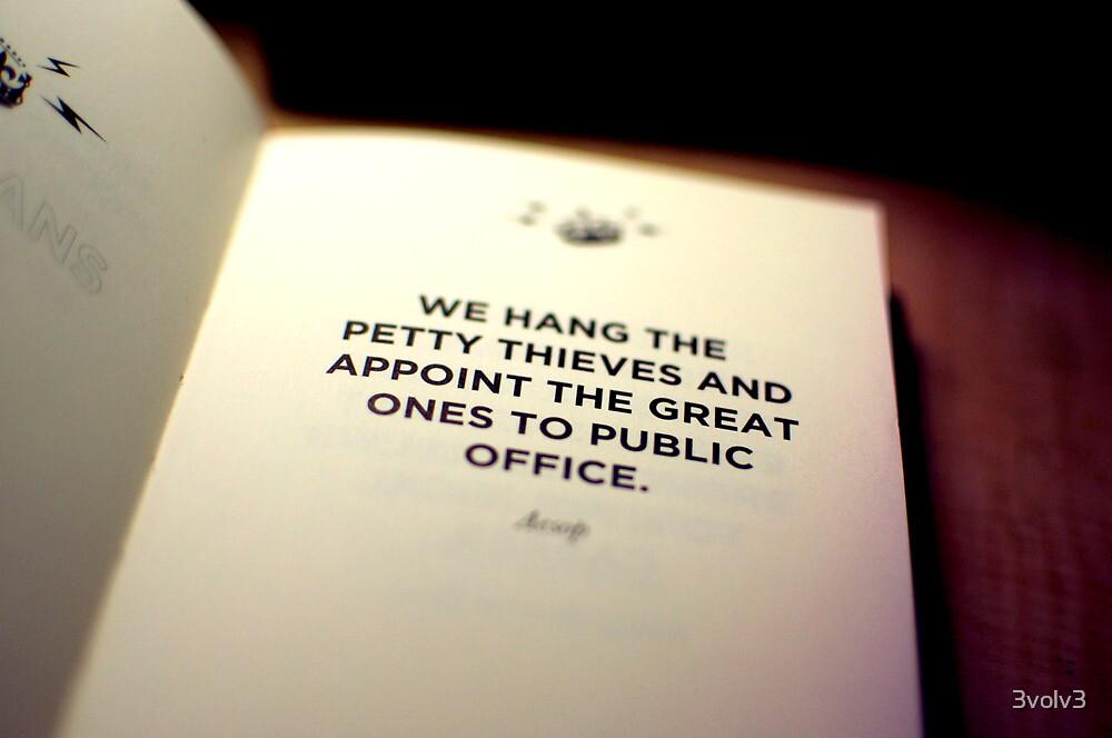 Governing Body... by 3volv3