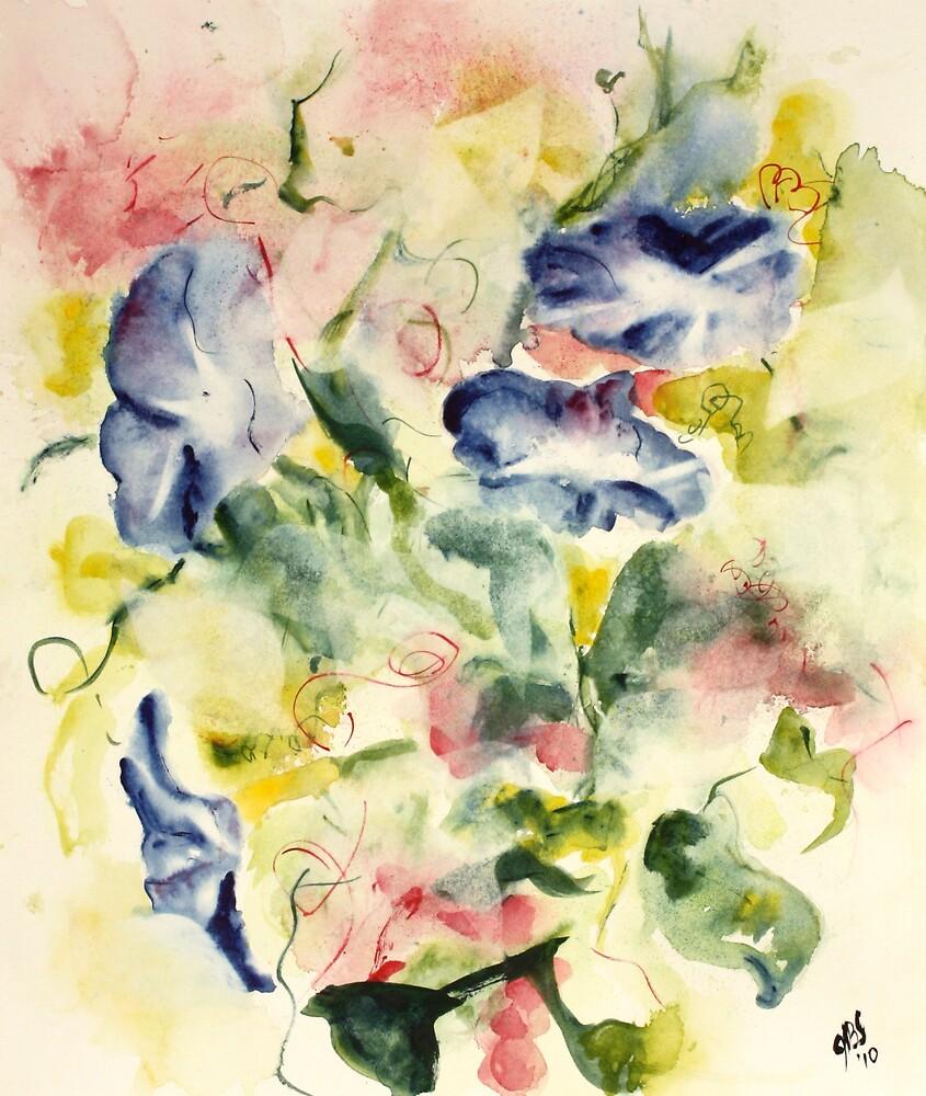 Petunias by Joyce Sousa