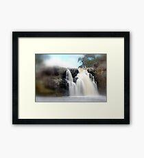 Turpin Falls, Gods speed Framed Print