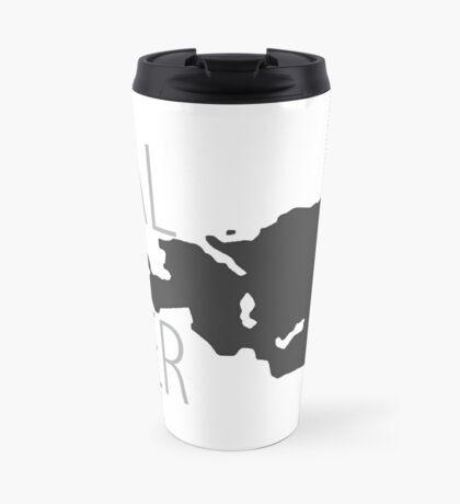 Fjaler - Maps on Mugs Travel Mug