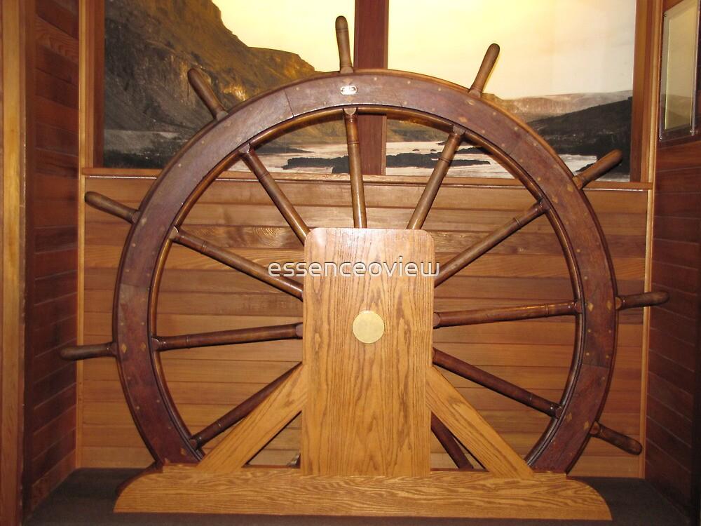 Ships Wheel by essenceoview