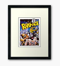 rampage Framed Print