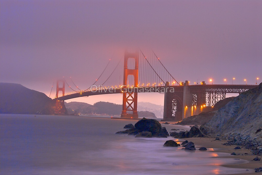 Golden Gate Bridge (South) by Oliver Gunasekara