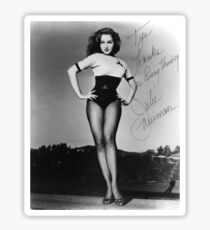Thanks for Everything, Julie Newmar Sticker
