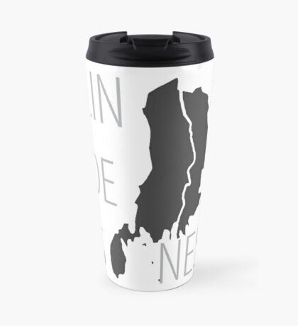 Lindesnes - Maps on Mugs Travel Mug