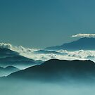 Ridges and Haze by brian watkins