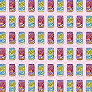 Japanese pop soda pattern by theeighth