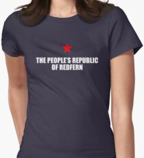 The People's Republic Of Redfern (White) Womens Fitted T-Shirt